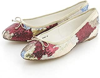 [MIONOTTIS] 芭蕾鞋 波罗尼斯制法丝面包 芭蕾舞 776MSP 女士