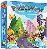 The World Game - 有趣的地理棋盘游戏 - 儿童和成人教育游戏,适合青少年男孩和女孩的创意