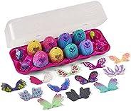 Hatchimals CollEGGtibles 鸡蛋纸箱12片装,带有混合和匹配的翅膀