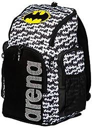 ARENA Team 45L 游泳運動員運動背包 訓練裝備包 適用于女士和男士