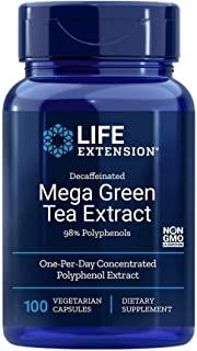 Life Extension 绿茶提取物98多酚,100克素食胶囊 -