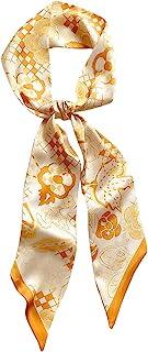 DEOIRC 手提包 手提包 带子 围巾 头巾 颈部 丝绸 围巾