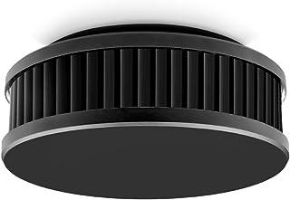 Pyrexx PX-1C • 1 件 • 无线烟雾探测器 10 年电池可与其他探测器联网 • 无钻孔和 LED 闪烁的磁支架• 通过 Q 标签认证 • 黑色