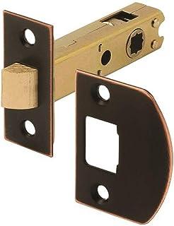 Defender Security E 2772 通道门闩,9/32 英寸和 5/16 英寸方形驱动,经典青铜