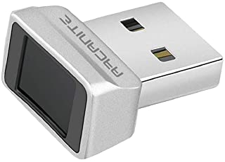 ARCANITE USB 指纹阅读器,适用于 Windows 10 Hello,0.05s 360 度传感器*设备 - AKFSD-07