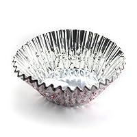 PEARL LIFE 日本珍珠生活 进口铝箔制糕点模具 蛋糕模具 蛋糕托 蛋糕杯(小10cm/40枚入)D-3551