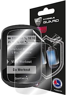 IPG 适用于 Garmin Edge 130 Plus,GPS 自行车/自行车电脑触摸屏保护膜隐形超高清透明膜防刮皮肤保护 - 光滑/自愈/无气泡,适用于 Edge 130 Plus