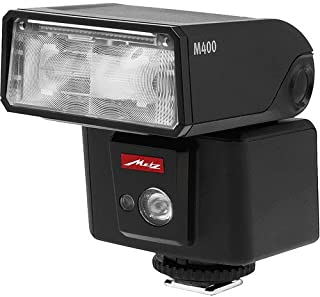 Metz M400 系列 Mecablitz Compact Flash 富士胶片,黑色 (MZ M400F)