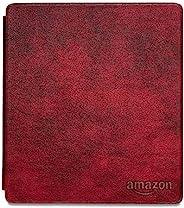 Kindle Oasis真皮保护套(适用于全新Kindle Oasis第十代以及Kindle Oasis第九代), 梅乐红