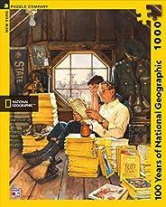 紐約拼圖公司 - 國家地理100年國家地理-1000塊拼圖