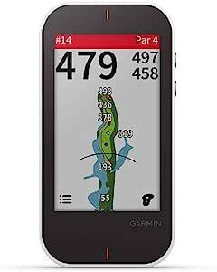 GARMIN 佳明 Approach G80 多合一高级GPS高尔夫手持设备,具有3.5英寸触摸屏和集成的击球监测仪