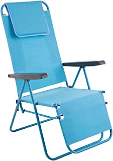 Dajar 464781 花园扶手椅 Merano Plus D027-11TB 庭院蓝色 152 x 59 x 104 厘米