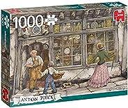 高级系列 18826 安顿皮克-时钟商店 1000 块装儿童*拼图,多种颜色