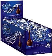 Lindt 瑞士莲 LINDOR 黑巧克力松露,犹太洁食,120粒,50.8盎司,1440克