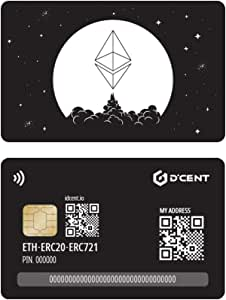 D'CENT 加密货币硬件钱包卡型,以太坊和 ERC20 钱包