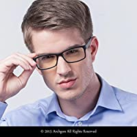 Archgon 時尚電腦眼鏡防藍光紫外線防護 A+ 水晶鋼化鏡片型號 Rio Samba GL-B107-GR