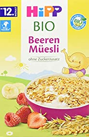 HiPP 喜宝 Bio 无糖浆果幼儿麦片 适用于12月以上幼儿,6盒装(6 x 200g)