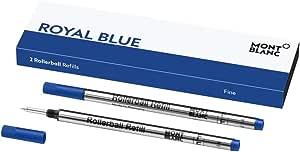 Montblanc 万宝龙 RB F 2x1 ROYAL BLUE PF 品牌填充