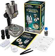 National Geographic Dual Microscope Science Lab - Over 50 Accessories!