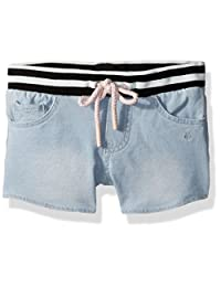 Calvin Klein 卡尔文·克莱恩 小女童 牛仔短裤