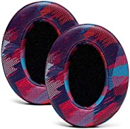 WC Wicked Cushions *替換耳墊適用于 ATH M50X - 適合 Audio Technica M40X / M50XBT / HyperX Cloud & Cloud 2 / SteelSer