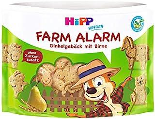 HiPP 喜宝 儿童小零食,动物饼干(Farm Alarm),6袋装(6 x 45g)