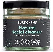 PureChimp 天然洁面乳(超自然洁面乳)80克 - * 天然,素食,英国手工制作 - 也非常适合敏感肌肤 - 香蕉提取物