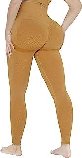 WHOMYA 女式高腰瑜伽裤提臀无缝打底裤