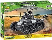 COBI 2534 装甲I Ausf.A积木玩具 灰色