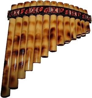 易于玩耍的初学者秘鲁宝藏小秘鲁可调安塔拉潘长笛 13 管套包括(多色)