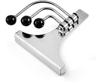 DENOKA(Dinoka) 不锈钢挂钩、大衣挂钩、整理收纳衣挂、衣柜、浴室、卧室、厨房适用 挂钩