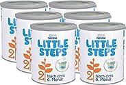 Nestlé 雀巢 LITTLE STEPS 2 婴儿奶粉 2段(适用于6月以上婴儿) 哺乳喂养后续,6罐装(6 x 800g)