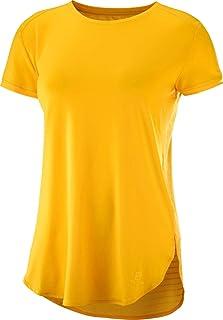 Salomon 女士 Comet Breeze T 恤 短袖衬衫
