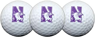 Team Effort Northwestern Wildcats 高尔夫球,3 只装