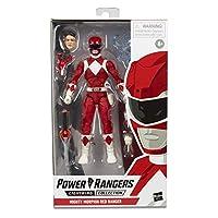 Power Rangers E7755 Lightning系列 6英寸/约15.24厘米 Mighty Morphin Red Ranger收藏可动人偶玩具及配件