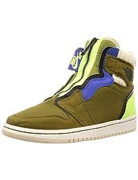 NIKE 耐克 女士 AIR Jordan 1 HIGH Zip UP 健身鞋