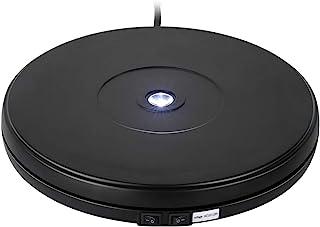 Neala 电动显示转盘 360 度旋转电动显示底座 带 LED 黑色自动旋转平台 用于展示珠宝、化妆品手表和数码产品