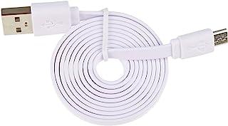 Garett 微型 USB 充电线,白色