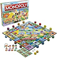 Hazbro 桌游 Monopoly 收集 动物之森 F1661 正品 2-4名对战用