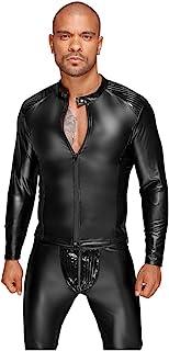 Noir Handmade Wetlook夹克带PVC褶皱 - XXL - 黑色,1 件装(1 x 1 毫升)