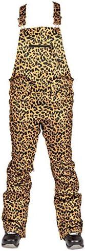 L1 LORETTA OVERALL 20女士工装裤,滑雪裤,保暖2层裤带胸袋,常规合身