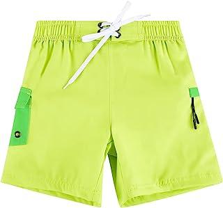 Nonwe 男式游泳裤水上运动印花速干绘图