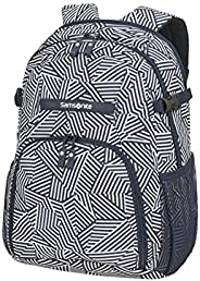 Samsonite 新秀丽 Rewind Rewind,尺寸:31 x 22 x 44 厘米 – 23 L – 0,60 公斤 Navy Blue Stripes Navy Blue Stripes