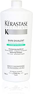 Kerastase 巴黎卡诗 化妆/护肤品牌 Specifique Bain Divalent 平衡洗发露 (针对油性发根-敏感的长度)1000ml/34盎司