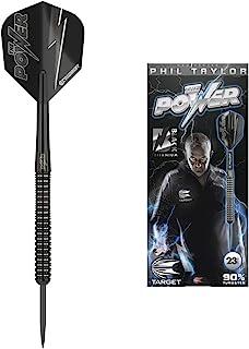 Target Darts Black Phil Taylor Power Edition 23G 80% 钨飞镖礼品套装
