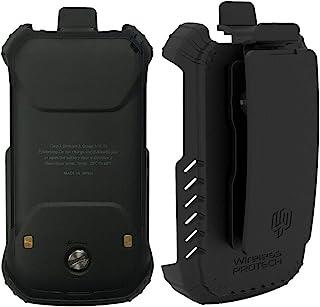 DuraXV Extreme 皮套保护套,E4810 TRU Flex 皮套带旋转皮带夹,适用于 Kyocera DuraXV Extreme E4810 无线 ProTech