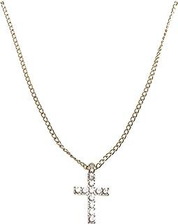 Urban Classics 钻石十字架项链袖扣