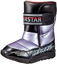 SUPERSTAR 靴子 防水 带防滑钉 19~25厘米 男孩 儿童 SS WPJ97SP