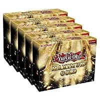 Yugioh Maximum Gold Trading Card Display Booster Box - 20 個擴展包