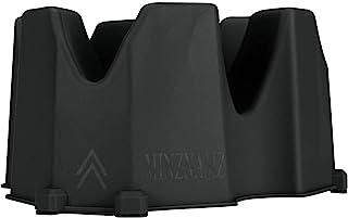 MINZNAMZ 自行车车轮立架 - 3 种不同高度创造自行车前轮立架稳定自行车涡轮支撑适用于室内自行车训练器固定自行车 [BIACK]